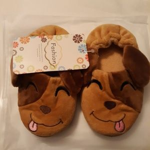 New Toddler puppy slippers